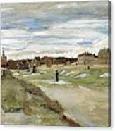 Bleaching Ground At Scheveningen Canvas Print