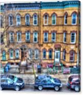 Bleecker Street In Bushwick - Brooklyn Canvas Print