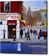 Bleecker Street Canvas Print