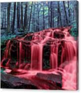 Bleeding Falls 1 Canvas Print