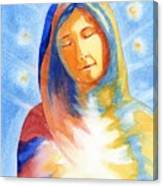 Blessed Mother Canvas Print