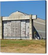 Blimp Hanger From Closed El Toro Marine Corps Air Station Canvas Print