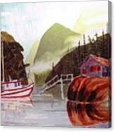Blind Bay Troller Canvas Print