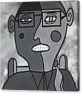 Blind Date Girl Canvas Print