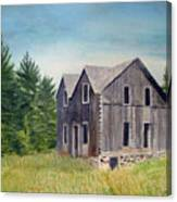 Blind River Homestead Canvas Print