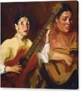 Blind Singers 1912 Canvas Print