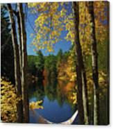 Bliss - New England Fall Landscape Hammock Canvas Print