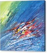 Bliss - E Canvas Print
