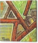 Acrylic Block Art Canvas Print