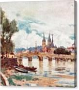 Blois Canvas Print