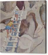 Blond Indians Canvas Print