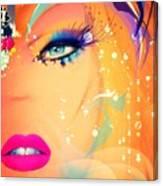 Blonde De Vogue Canvas Print