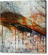 Blood From A Stone Canvas Print
