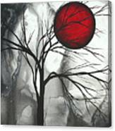 Blood Of The Moon 2 By Madart Canvas Print