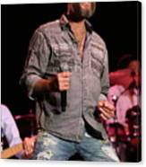 Blood Sweat And Tears Singer Bo Bice Canvas Print