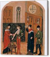 Bloodletting Canvas Print