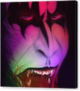Bloody Demon Canvas Print