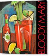 Bloody Mary Poster Canvas Print