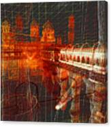 Bloody String Theory Canvas Print