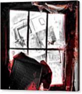 Bloody Walls Canvas Print