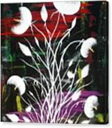 Blooming Abstract Canvas Print