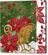 Blooming Christmas I Canvas Print