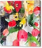 Blooming Fools Canvas Print