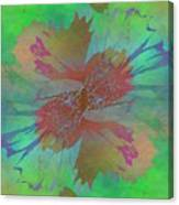 Blooms In The Mist Canvas Print