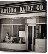 Blossom Dairy Co. Canvas Print