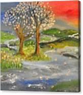 Blossom Trees Canvas Print