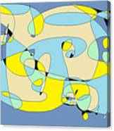 Blow Fish Canvas Print