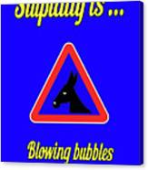Blowing Bigstock Donkey 171252860 Canvas Print