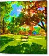 Blowing Rock Park Canvas Print
