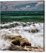 Blowing Rocks Preserve  Canvas Print