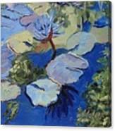 Blu I Canvas Print