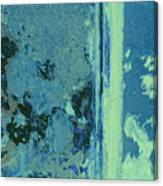 Blue Abstraction Canvas Print
