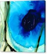 Blue And Green Art - Pools - Sharon Cummings Canvas Print