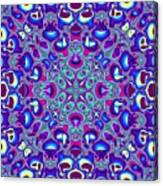 Blue And Pink Wallpaper Fractal 71 Canvas Print