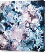 Blue And Purple Canvas Print