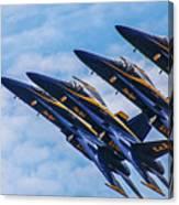Blue Angels Ascending Canvas Print