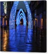 Blue Arch Canvas Print