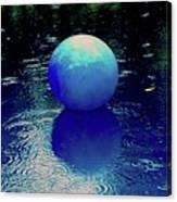 Blue Ball 4 Canvas Print