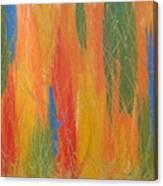 Blue Bang Canvas Print