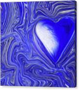 Blue Beats Canvas Print