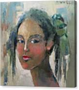 Blue Eyes Canvas Print