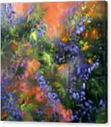 Blue Belle Sunset Canvas Print