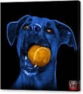 Blue Boxer Mix Dog Art - 8173 - Bb Canvas Print