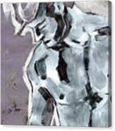 Blue Boy Variation Canvas Print