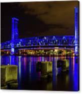 Blue Bridge 1 Canvas Print