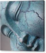 Blue Buddha Of Serenity Canvas Print